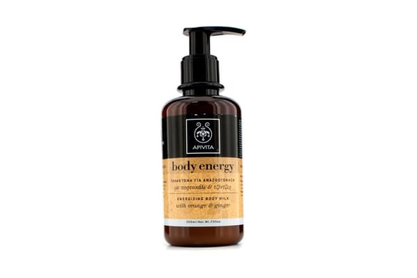 Apivita Body Energy Energizing Body Milk with Orange & Ginger (200ml/7.05oz)