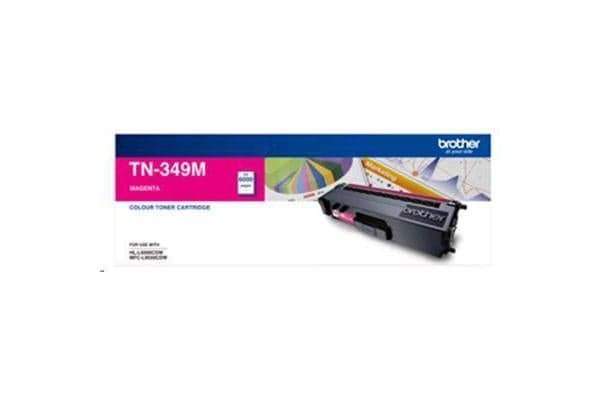 Brother TN349M 6000 pages Magenta Toner