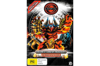 Chaotic Lord Of Treachery Vol 2 (2-Disc Set) -Animated Series Region 4 DVD NEW