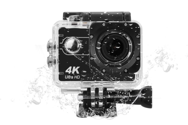Kogan 4K Action Camera & Accessories Kit
