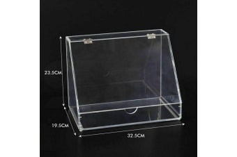 Cosmetic Organizer Clear Acrylic Jewellery Box Makeup Storage Case Drawers  -  A
