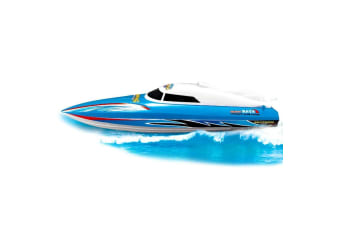 Rusco Racing Sea Ripper RC Boat - Blue - 2.4GHz