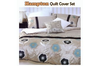 Hampton Quilt Cover Set by Paxton & Wiggin - Queen
