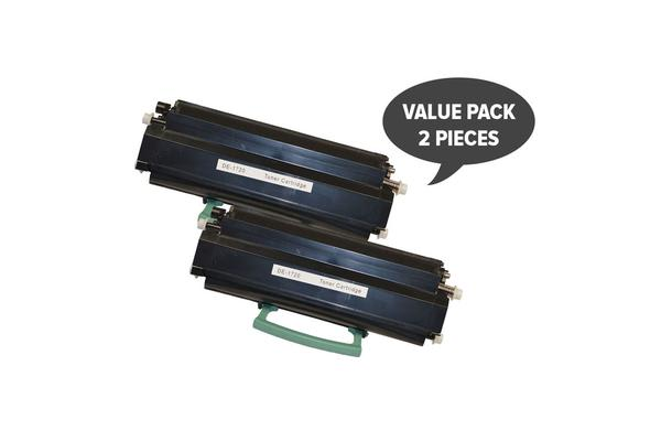 [5 Star] 592-10436 #1720 Black Premium Generic Toner Cartridge x 2