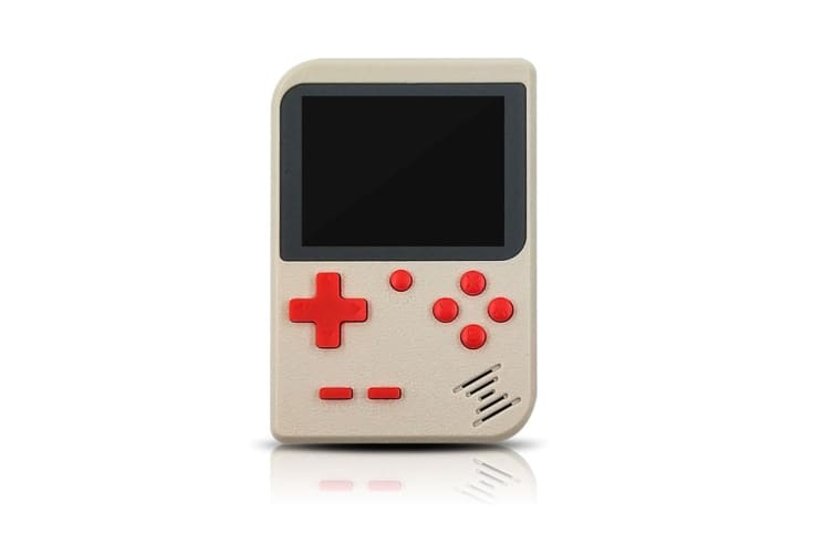 Select Mall 3 Inches Handheld Game Player Portable Retro Video Game Player Support Connecting TV and Two Players-White