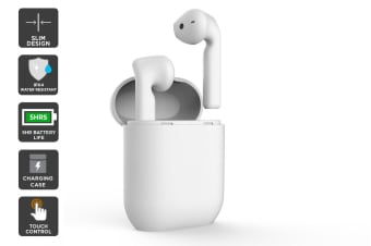 Kogan W9 True Wireless Earphones (White)