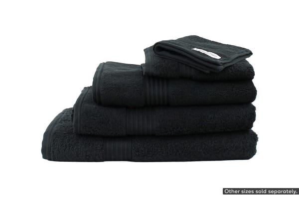 Onkaparinga Ultimate 100% Turkish Cotton Hand Towel Set of 4 (Black)