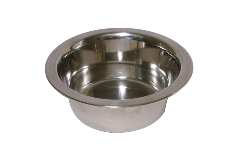 Rosewood Deluxe Stainless Steel Bowl (Silver) (20cm)