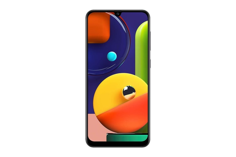 Samsung Galaxy A50s Dual SIM (4GB RAM, 64GB, Prism Crush Black)