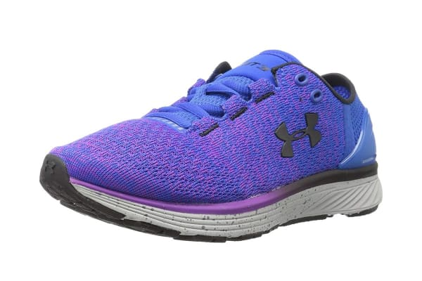 Under Armour Women's Charged Bandit 3 Running Shoe (Ultra Blue/Purple Rave, Size 8)