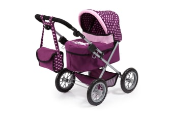 Bayer Trendy Doll Pram - Unicorn with Hearts