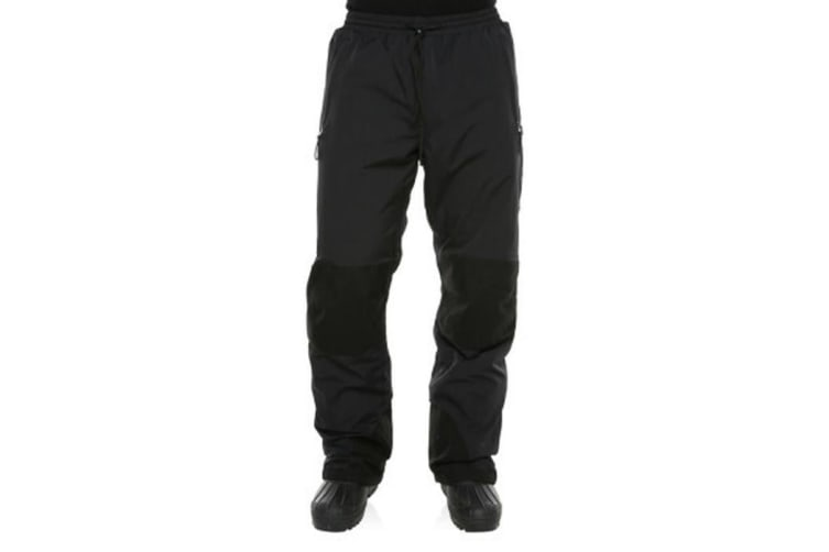 XTM Adult Unisex Snow Trousers Rental Pant Black - 7XL