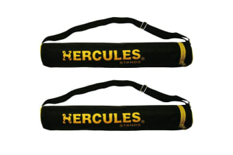 2x Hercules Orchestra Carrying Portable Carry Bag for Music Sheet Stand/Holder