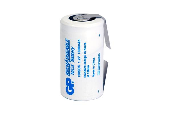 Gp 1300Mah 1.2V Nicad Sub C With