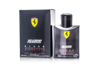 Ferrari Scuderia Black Signature Eau De Toilette Spray 125ml