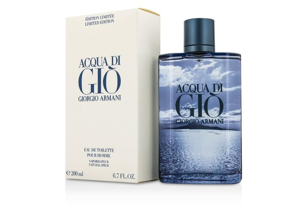 Giorgio Armani Acqua Di Gio Eau De Toilette Spray (Blue Limited Edition) (200ml/6.7oz)
