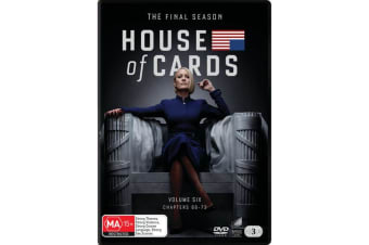 House of Cards The Complete Final Season Box Set DVD Region 4