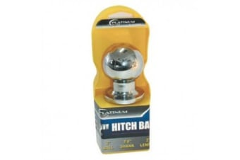 Platinum 50mm Chrome Plated Tow Ball - 2 Inch Hitch Ball