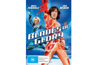 Blades of Glory -Comedy Rare- Aus Stock DVD PREOWNED: DISC LIKE NEW