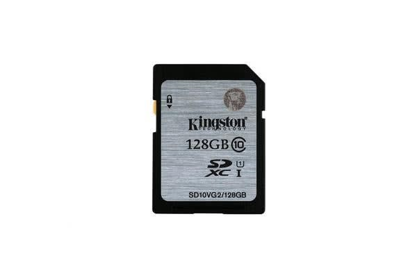 Kingston 128GB SDHC Flash Card Class 10 UHS-I 80MB/S