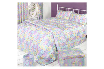 Mucky Fingers Childrens Heart Pattern Duvet Cover Bedding Set (Hearts)