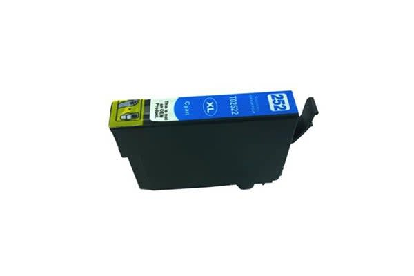252XL Cyan Compatible Inkjet Cartridge