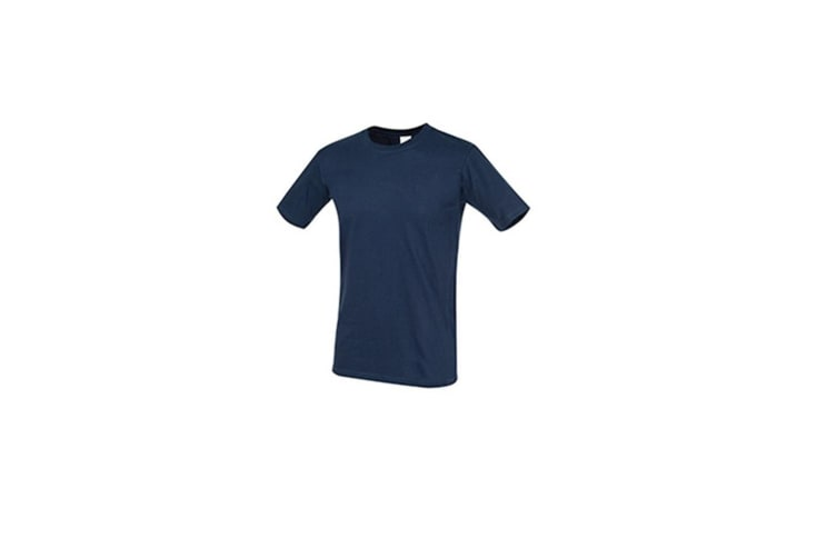 Stedman Mens Classic Fitted Tee (Navy) (S)