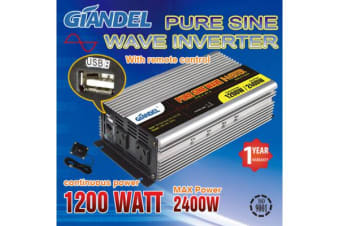 1200W Pure Sine Wave Inverter with Remote Control