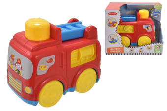 Infunbebe My 1st Musical Toy Fire Engine