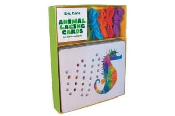 Eric Carle: Animal Lacing Cards - 10 Cards & Laces