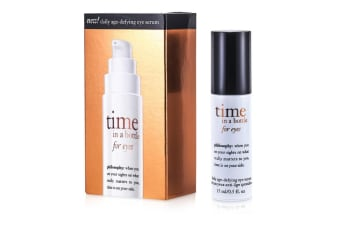 Philosophy Time In A Bottle For Eyes (Daily Age-Defying Eye Serum) 15ml