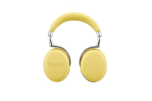Parrot Zik 2.0 Wireless Active Noise Cancelling Headphones (Yellow)