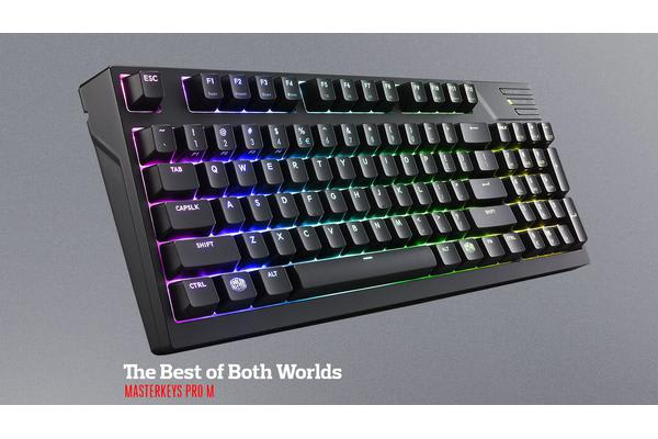 Coolermaster Masterkeys Pro M RGB Mechanical Keyboard (Blue switch), Software & Hardware Programmable