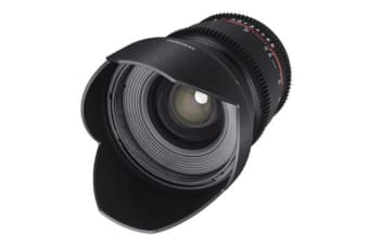 New Samyang 16mm T2.2 ED AS UMC CS II VDSLR (Canon) (FREE DELIVERY + 1 YEAR AU WARRANTY)