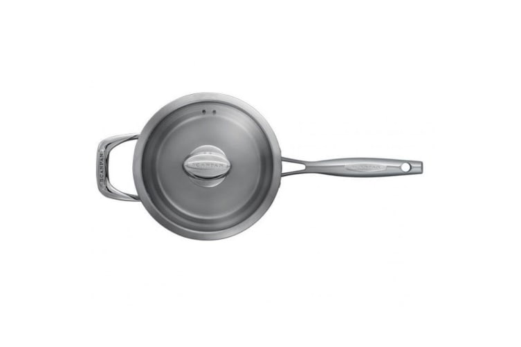 Scanpan Axis 20cm 3.5L Saucepan Induction Gas Stainless Steel w  Lid Oven Safe