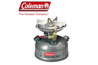 Coleman Compact Dual Fuel Stove Cooker Cooking Portable Camping Single Burner