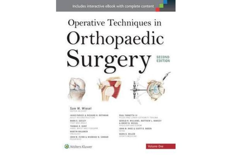 Operative Techniques in Orthopaedic Surgery 4 Volume Set