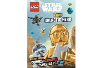 Lego (R) Star Wars - A New Galactic Hero (Sticker Poster Book)
