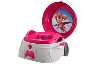 Paw Patrol 3-in-1 Potty System Toilet Training Toddler/Kids Seat/Step Stool Pink