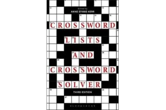 Crossword Lists and Crossword Solver