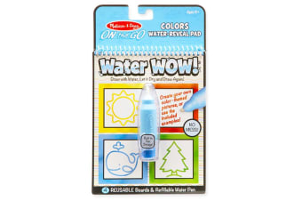 Melissa and Doug On the Go - Water Wow ! Colours and Shapes