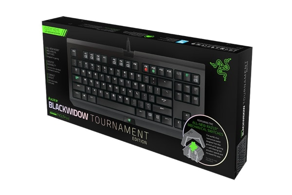 Razer BlackWidow Tournament Edition Essential Mechanical Gaming Keyboard