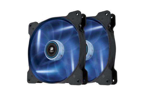 Corsair SP 140mm Fan with Blue  LED High Pressure Twin Pack!