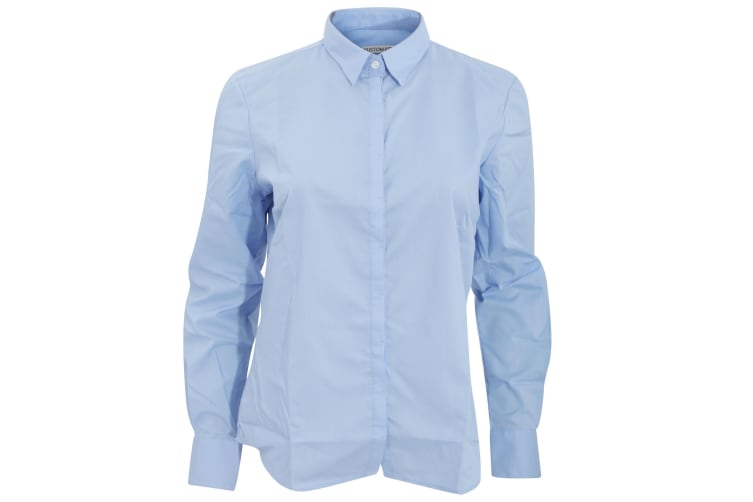 Kustom Kit Womens/Ladies Contemporary Business Blouse (Light Blue) (20)