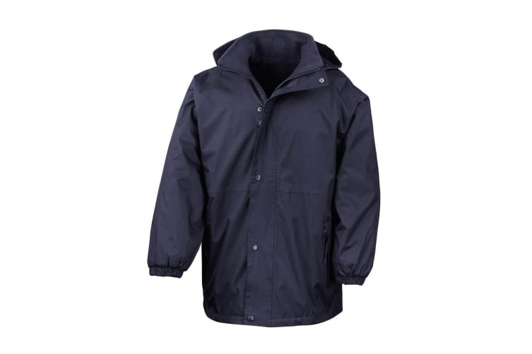 Result Mens Reversible StormDri 4 000 Waterproof Windproof Anti Pilling Fleece Jacket (Navy/Navy) (L)