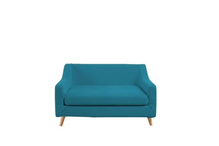 Dreamz Couch Sofa Base & Seat Cover Stretch Protector Slipcover 2 Seater Green