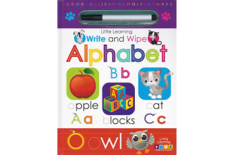 Little Learning: Write and Wipe: Alphabet