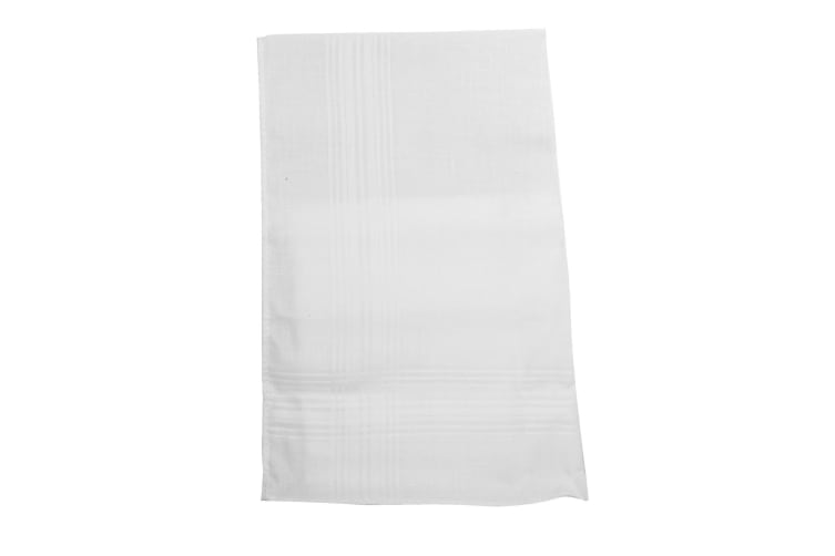Tom Franks Mens Cotton Handkerchiefs (Pack Of 5) (Small Stripes) (One Size)