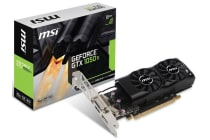 MSI NVIDIA GTX 1050 TI 4GT LP  4GB Video Card - GDDR5,DP/HDMI/DVI 1290/1392MHz