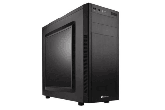 Corsair 100R. mATX, Mini-ITX, ATX. Side Window. Black 7x PCI Slots.  Mid-Tower Case